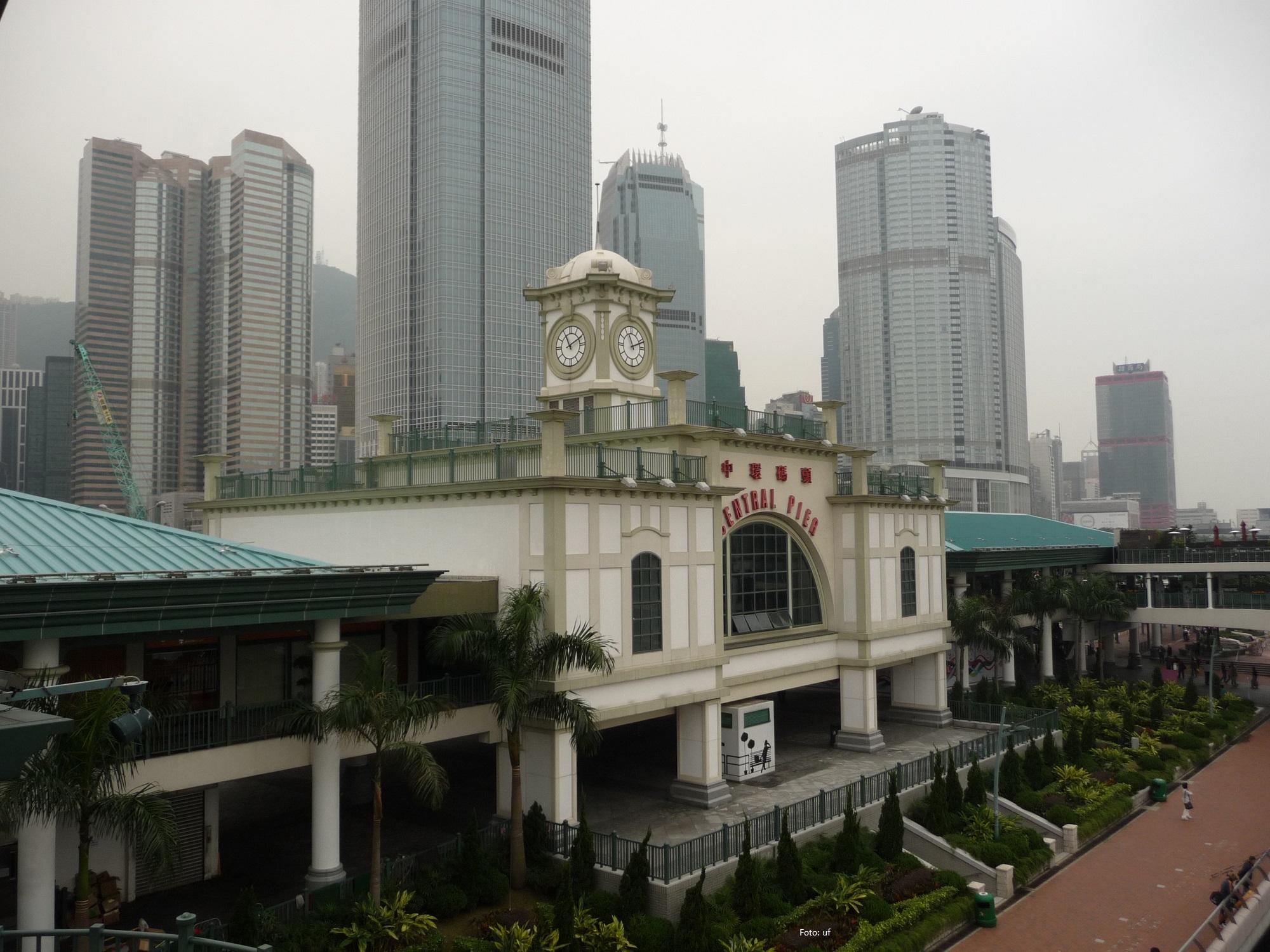 Central Pier - Victoria Harbour