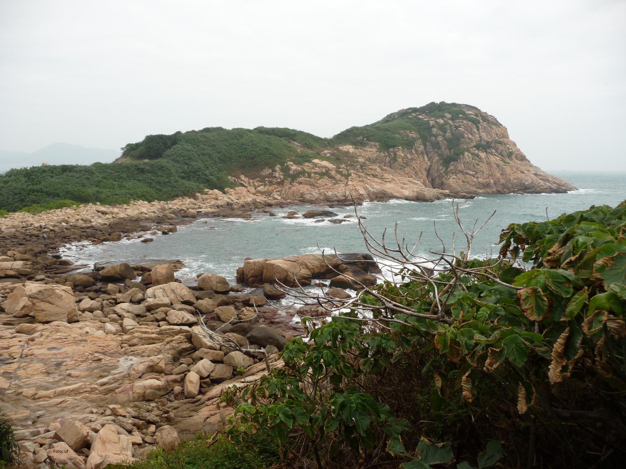 Natur pur - Bucht bei Shek O