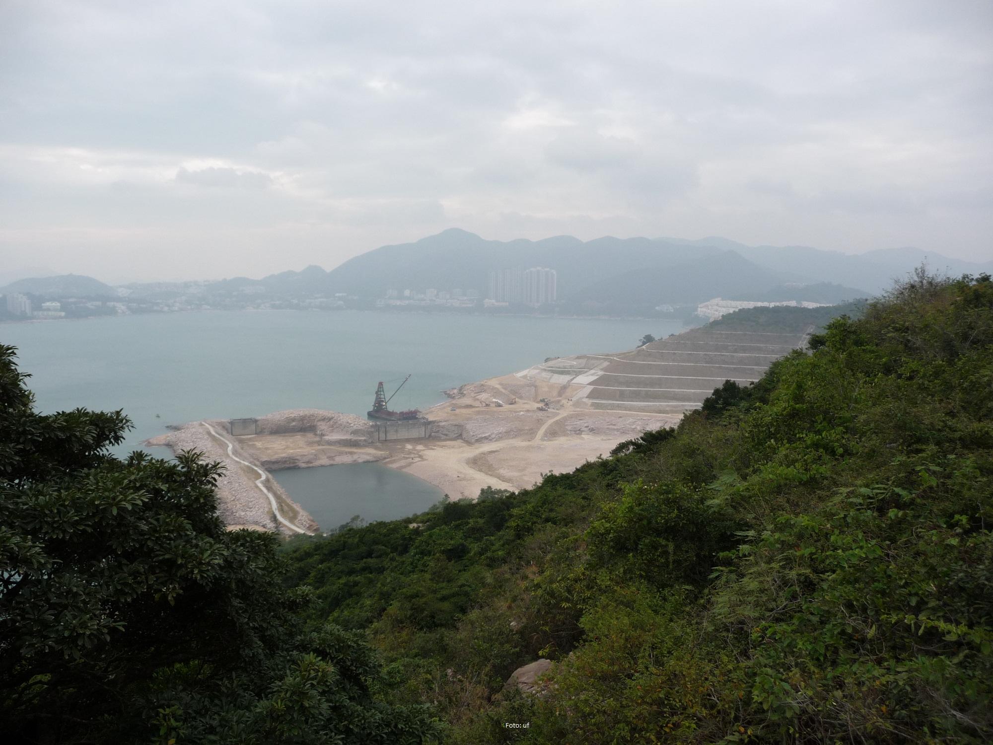 Landgewinnung - es geht immer weiter - Hongkong braucht Land