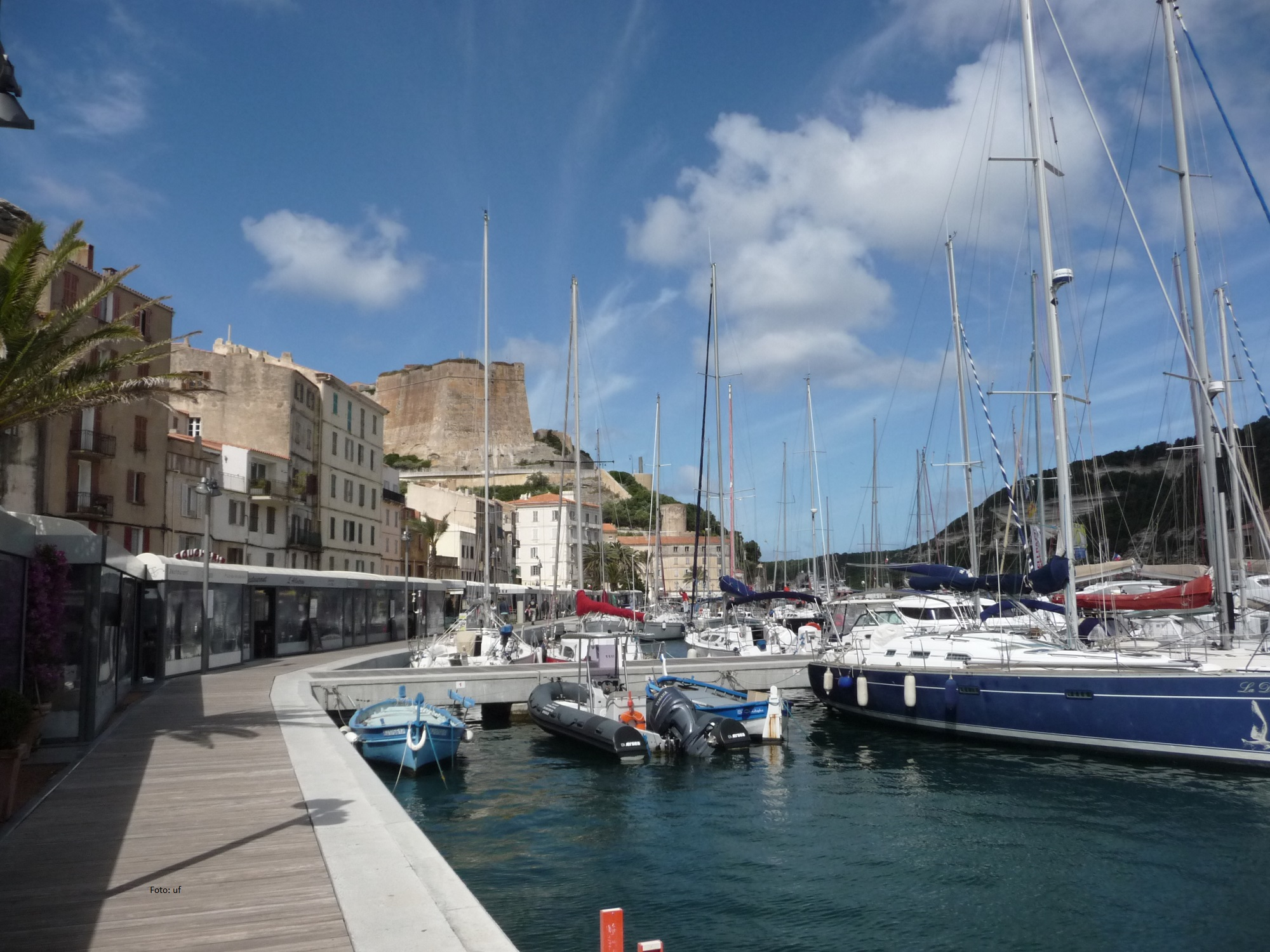 Hafen in Bonifacio