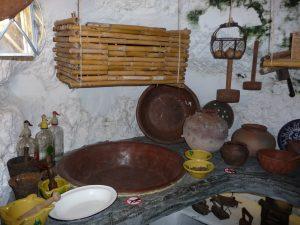 Im Höhlenmuseum von Artenara