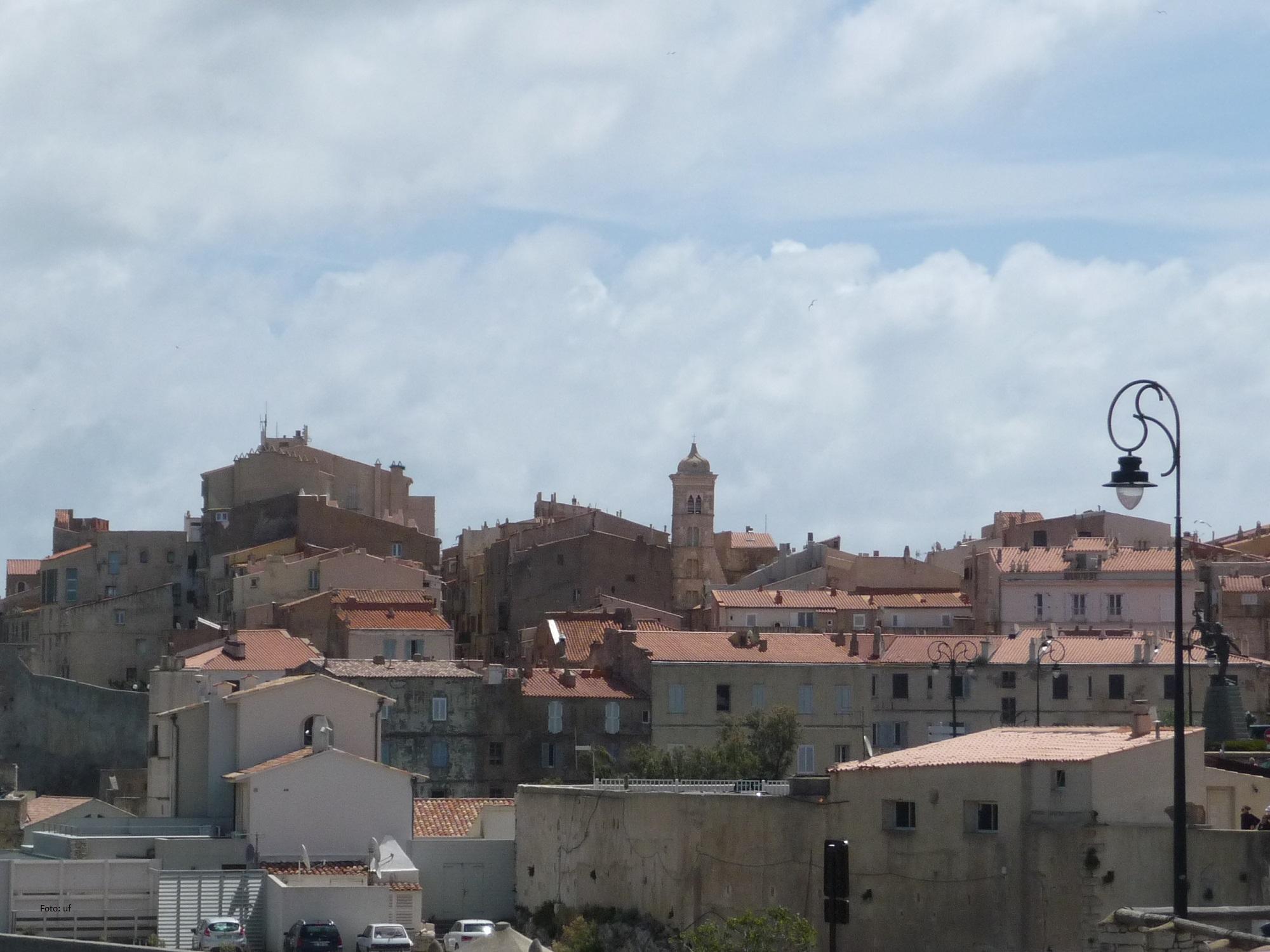 Blick auf die Altstadt von Bonifacio