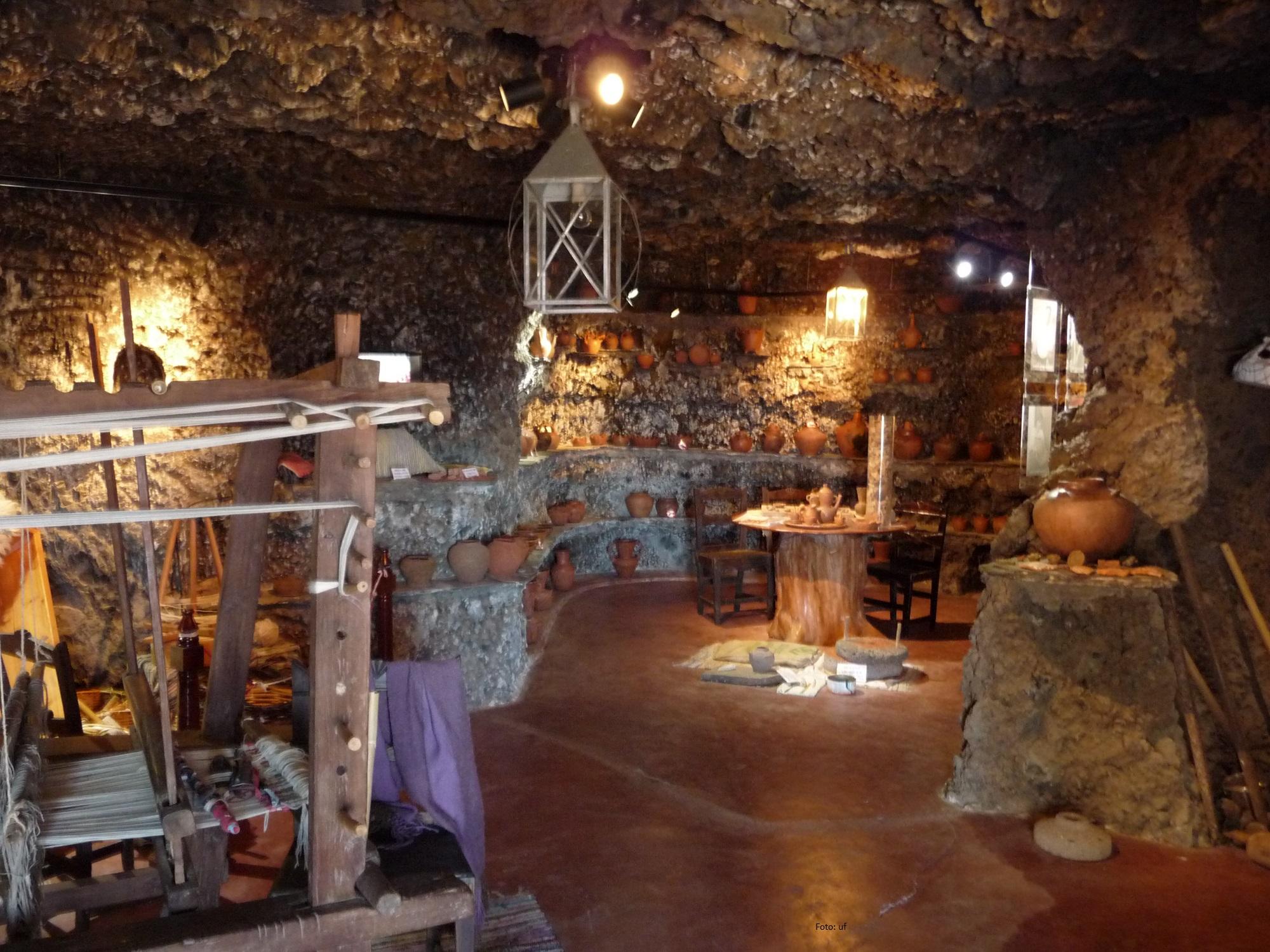 Höhlenwohnungen als Museum