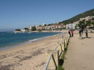 Strand und Promenade in Ajaccio