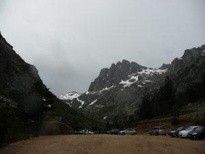 Bergerie de Grotelle - Ende der Straße und auch Ausgangspunkt für eine anspruchsvolle Wanderung zum Lac de Melo (ein Gletschersee)