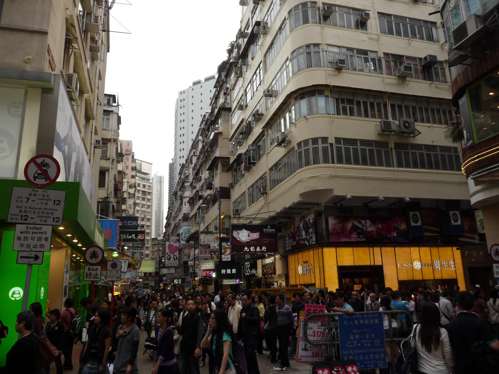 Sonntags in Hong Kongs Straßen - Shopping Day!