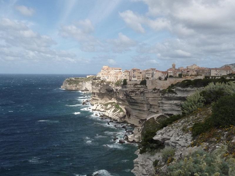 Blick auf Bonifacio - Korsika