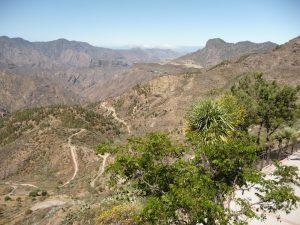 Blick von einem Aussichtspunkt in Artenara
