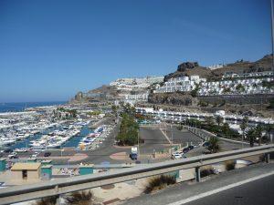Puerto Rico - Blick auf den Hafen