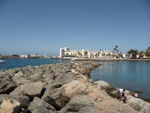 Hotel The Puerto de Mogàn - ein Blick aus der Ferne