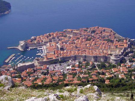 Dubrovnik an der Kroatischen Adria - die gesamte Innenstadt ist UNESCO Weltkulturerbe.