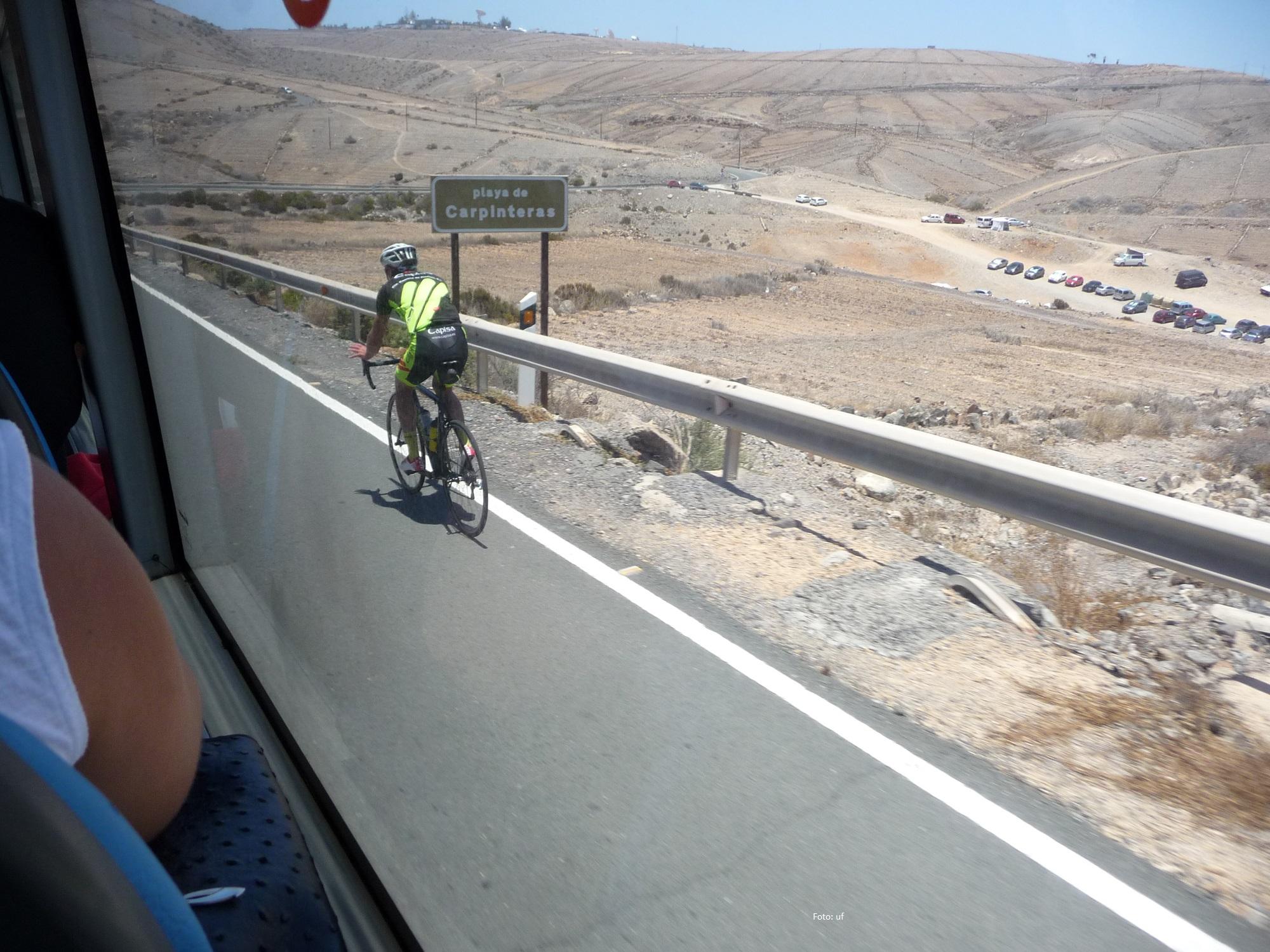 Ehrgeizige Radsportler - auch auf Gran Canaria