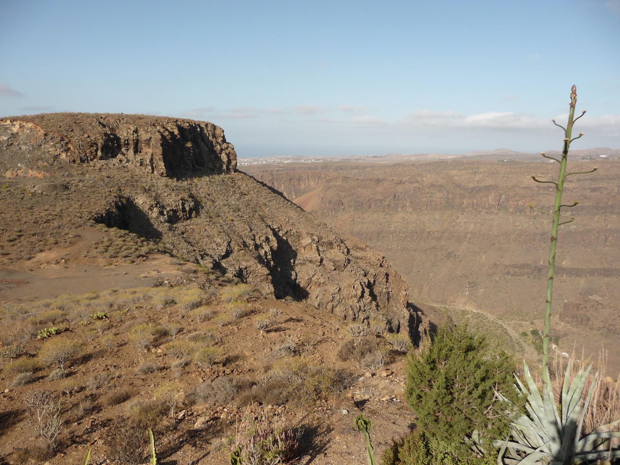 Canyons auf Gran Canaria