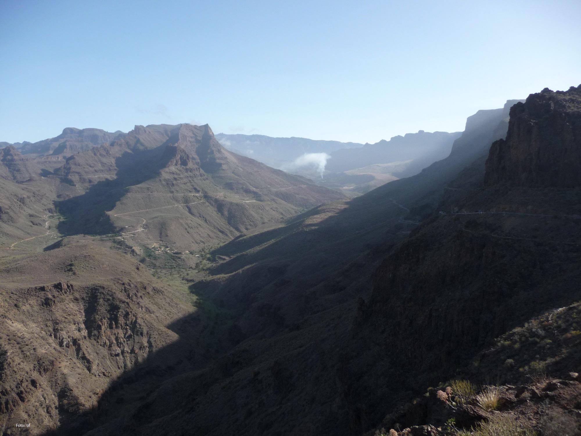 Beeindruckende Bergformationen auf Gran Canaria