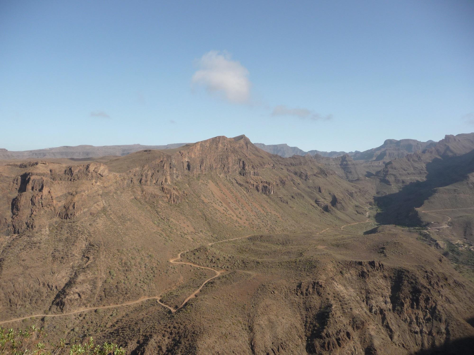 Gran Canaria - vulkanischen Ursprungs, ca. 4,1 Mio. Jahre alt