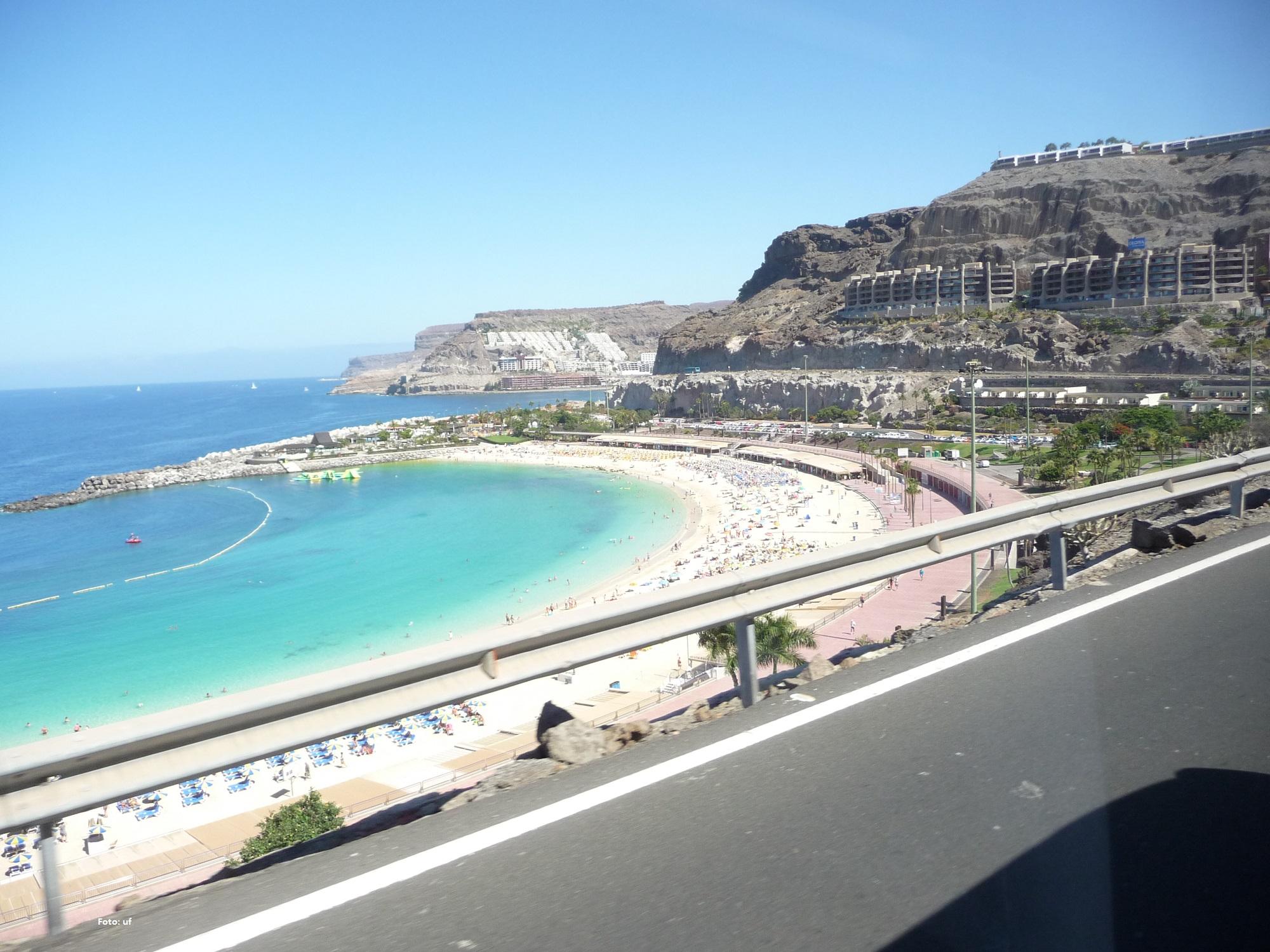 Strandbucht von Playa Amadores