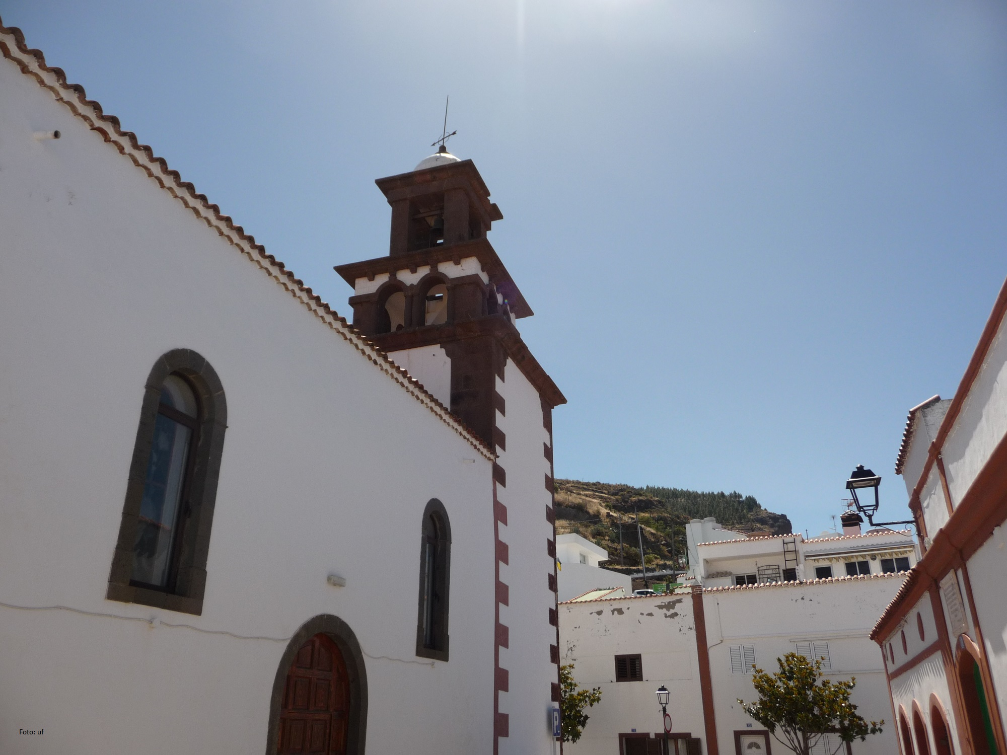 Kirche San Matìas in Artenara