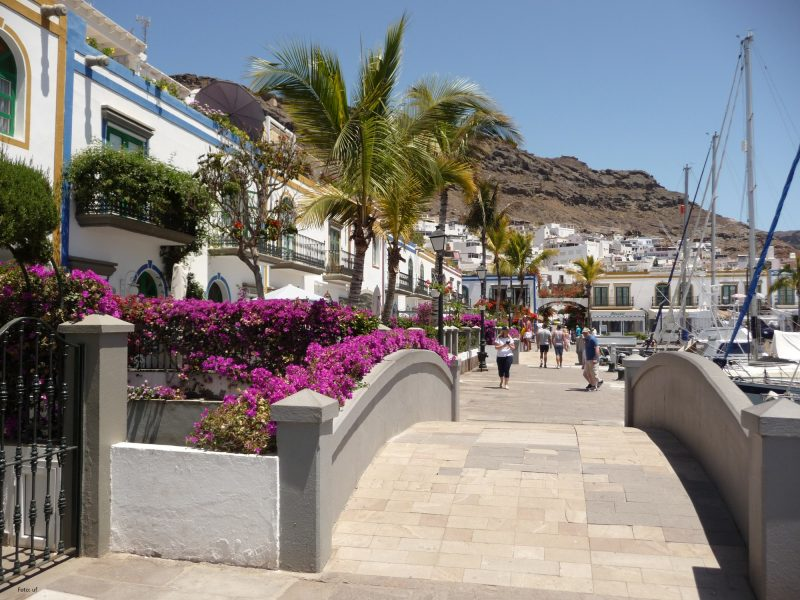 Flanieren durch Puerto de Mogàn