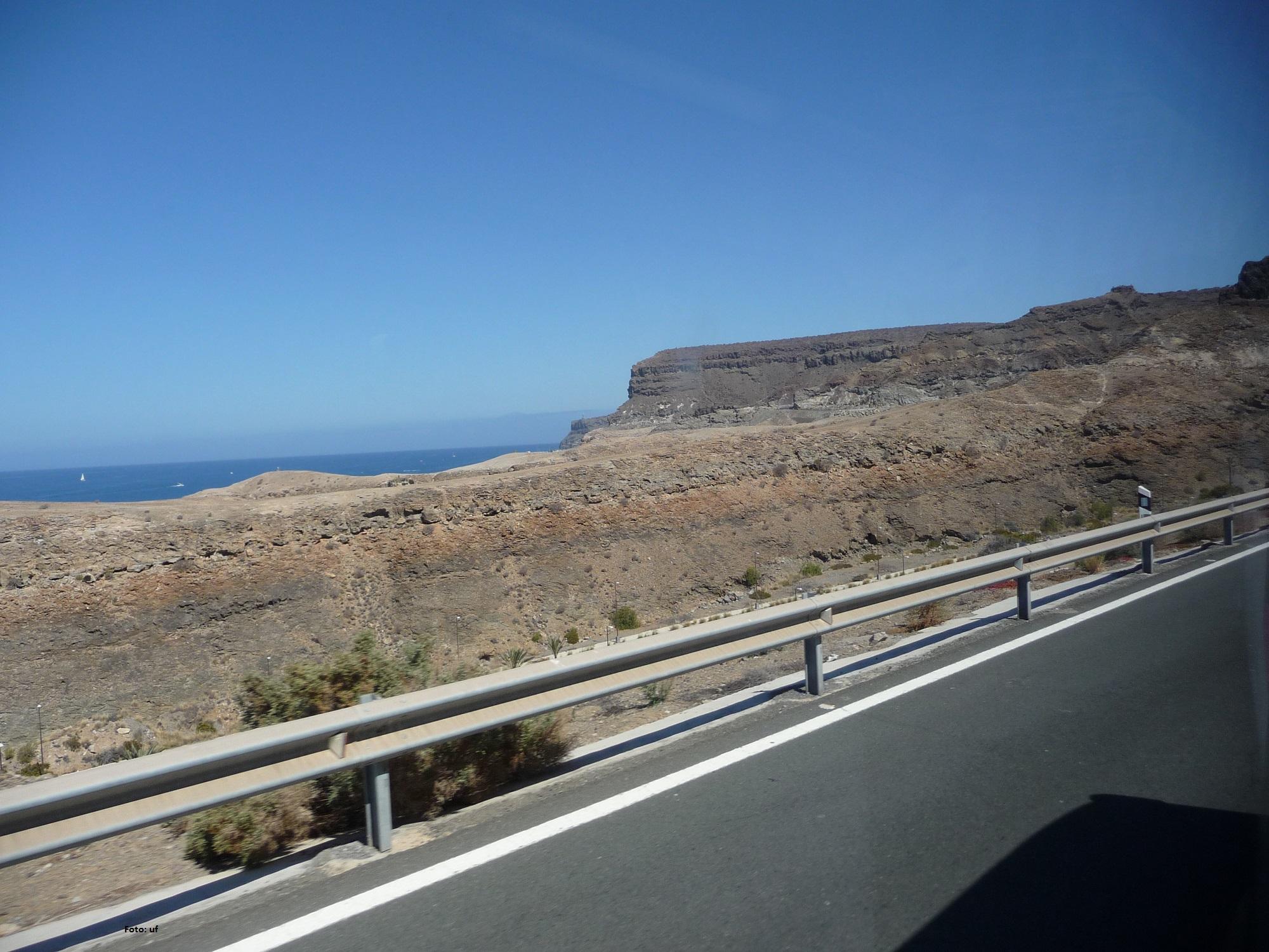 Mit dem Bus nach Puerto de Mogàn