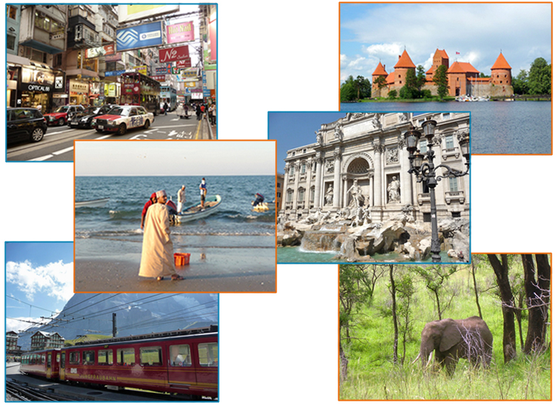 Weltreisen und Urlaub buchen in Dresden